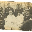 HUNGARIAN RED CROSS DOCTORS REAL PHOTO 1939 WWII