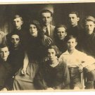 YOUTH IMMIGRANTION FROM LATVIA REAL PHOTO POSTCARD 1925