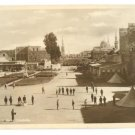 OLD SYRIA DAMASCUS CITADEL COURTYARD SEPIA POSTCARD