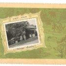 VINTAGE VIETNAM HAPPY NEW YEAR PHOTO GREETING CARD 1900