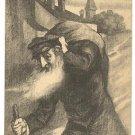 "RARE BERLIN ""HOMELESS JEW"" by JULIUS COHEN PC CA 1900'S"