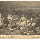 """""""BREAKFAST OF WORKERS IN MIGDAL"""" PALESTINE 1900'S"""