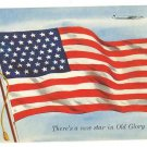 PAN AMERICAN UNITED STATES 49TH STAR ON FLAG PC 1949