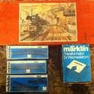 HUGE VINTAGE MARKLIN RAILROAD TRAINS 3100 SET,TRANSFORMATOR & TRACKS