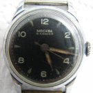 RARE VINTAGE MOSKVA 16 JEWELS MEN'S WATCH FOR REPAIR
