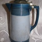 Antique Villeroy & Boch Mettlach Blue Stein, Numbered 2893, 22