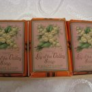 LILY OF THE VALLEY Soaps F.Wolff & Sohn Karlsrue Germany, early 1900's