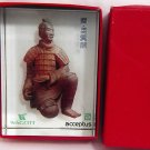 ANCIENT CHINESE WARRIOR *WAGOTT*ACCEPTUS* CRYSTAL PAPERWEIGHT WITH BOX