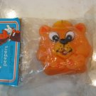 NOS ~ PEEPERS TEDDY BEAR RUBBER BATH TOY BY TOMMEE TIPPEE, SEALED