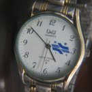RARE ISRAEL RAILWAY Q&Q GENTS QUARTZ WATCH JAPAN