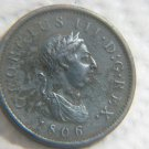 1806 GREAT BRITAIN LARGE PENNY