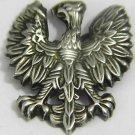 OLD POLAND EAGLE HAT BADGE