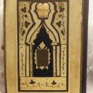 ANTIQUE CARVED CAMEL BONE INCRUSTED MACHZOR ROSH HASHANAH JUDAICA VIENNE 1890