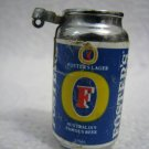 FOSTER'S LAGER AUSTRALIA'S FAMOUS BEER LIGHTER CAN