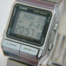 VINTAGE CASIO 262 DB-500 TELEMEMO 50 DATA BANK WATCH