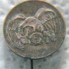 VERY RARE POLISH NATIONALIST BRONZE PIN BADGE 1933