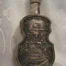 "Yeshiva ""Or Hachaim"" 925 Silver Wine Bottle 9.5"", Jerusalem, Israel"