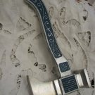 Russian Enameled Cast Metal AXE & BEATER Famous Tula Weapon Factory 1960's