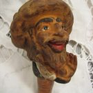 SINGING RABBI Rubber Bottle Stopper Israel 1950's ~ Rare