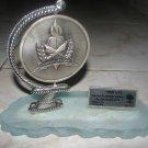 IDF GDUD 13 GOLANI REWARD MEDAL-GLOBE fr CHARITY ISRAEL