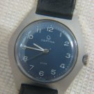 Vintage 1960's CERTINA KIM Mechanical Gent's Watch Blue Dial ~ All original