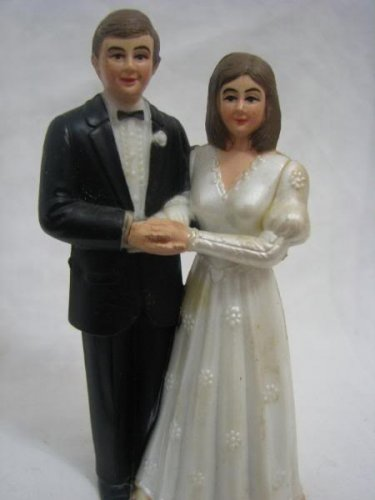 LES MARIES French wedding cake toppers NOS