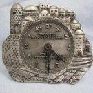 JERUSALEM IDF ZAHAL - Ravenna Italy Award Hebrew Clock Israel 1998 by A.Kaduri