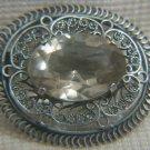 Captivating Sterling silver brooch Eretz-Israel 1930-40