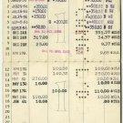 VERY RARE DOLLAR SAVINGS BANK STATEMENT OF JEWISH MAN 1956 ~NEW YORK ~ CANCELLED