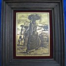 WOMEN OF THE HILL COUNTRY OF JUDAEA METAL ETCHING WEBB