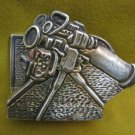 IDF ZAHAL RAFAEL Military Industry 925 silver Table Card Holder Israel