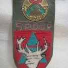 IDF Northern Command Druze Batallion Tag with Badge Israel