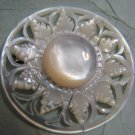 Hand carved Mother-of-pearl Brooch Bethlehem Israel