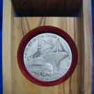 1995 Zim 50th Anniversary 999.9 SILVER MEDAL ISRAEL