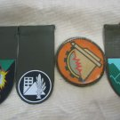 IDF ZAHAL Tag, embroidered patch Israel #8