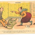 "FRENCH ""CHEATING HUSBAND"" COMICAL CARICATURE PC"