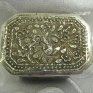 Vintage Hand made Silver plated Trinket / Tobacco Box Vietnam