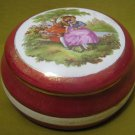 Fragonard Vintage porcelain Trinket Box by Artis Israel