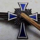 Der Deutschen Mutter The Cross of Honour of the German Mother 1938 Enamel Brooch