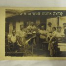 PALESTINE 1933 JEWISH MIZRAHI WEAWERS GROUP PHOTO ~ SCARCE