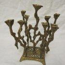 ORIGINAL VINTAGE WAINBERG CHANUKAH MENORA LAMP JUDAICA ISRAEL JERUSALEM