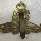 ORIGINAL WWII BRITISH ROYAL ARTILLERY CAP BADGE