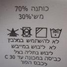 """ISRAEL """"m.l - MATIMLI"""" WOMEN HAREM SILKY PANTS BAGGY ALADDIN GENIE SZ L"""