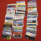 LOT #2 OF 100 VINTAGE QSL RADIO AMATEUR STATIONS CARDS VARIOUS COUNTRIES