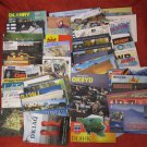 LOT #1 OF 100 VINTAGE QSL RADIO AMATEUR STATIONS CARDS VARIOUS COUNTRIES