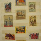 LOT #15 OF 10 VINTAGE RARE MATCHBOX LABELS CITIES