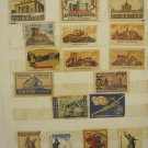 LOT #3 OF 17 VINTAGE RARE MATCHBOX LABELS CASTLE