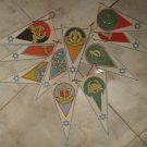 ISRAEL INDEPENDENCE DAY VINTAGE ZAHAL IDF FLAGS~GADNA~NAVY~AIR FORCE~PARATROOPER