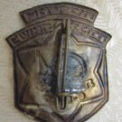 1967 OPENING OF HOLOCAUST MUSEUM in NAZARETH ILLIT ISRAEL MEMORIAL PIN BADGE