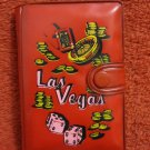 VINTAGE SEALED LAS VEGAS PLAYING CARDS WITH COVER AND SCORE PAD HONG KONG MADE